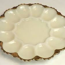 milk glass egg plate shop milk glass serving trays on wanelo