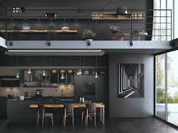 cuisine en noir cuisine comment adopter cette tendance joli place
