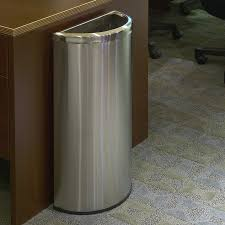 kitchen 12 gallon trash can stainless steel step trash can 13
