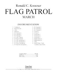 Flute Flag Flag Patrol By Knoener J W Pepper Sheet Music