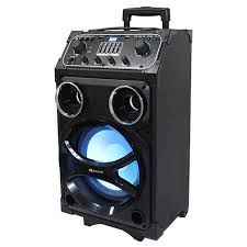 portable speaker with lights portable bluetooth dj speaker with led lights