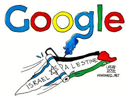 israel google google blames malfunction for deleting west bank and gaza from