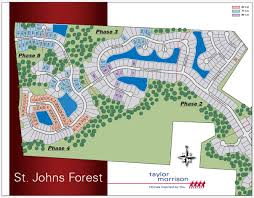 Map Of Jacksonville Florida by St Johns Forest In Jacksonville Florida Taylor Morrison