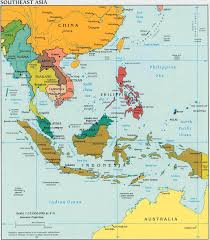 Southeast Florida Map by Economic Zones Southeast Asia Map
