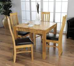 kitchen contemporary dining table and 6 chairs dining set for