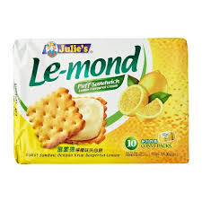 julie cuisine le monde julie s le mond lemon flavoured puff sandwich 170g from redmart