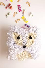 easy to make arctic fox pinata diy and party flax u0026 twine