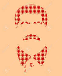 Joseph Stalin Flag Vector Portrait Of Joseph Stalin Soviet Union Leader Flat Icon