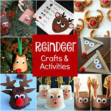 Kids Reindeer Crafts - rudolph reindeer activities fantastic fun u0026 learning