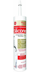 ge ge 5070 silicone ii kitchen and bath caulk 10 1 oz cartridge