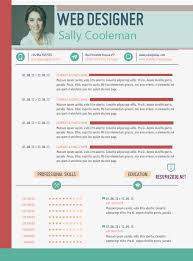 Resume Format For Web Designer 20 Awesome Resume Templates 2016 U2022 Get Employed Today