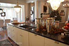 christmas kitchen ideas southern living idea house 2012 christmas slipcovered grey