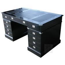 Partner Desks Home Office by Black Campaign Desk Contemporary Home Office 695 00