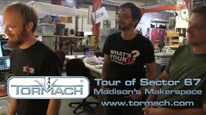 a tour of sector 67 madison u0027s maker space youtube