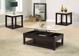 Living Room Sofa Tables by Sicily Coffee Table With Lift Top And Casters U2013 Beige The Brick