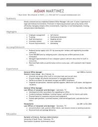 resume format for experienced administrative manager responsibilities resume resume format for admin manager