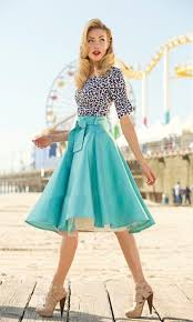 modern version of 1950 u0027s fashion fashion retro skirt summer