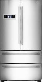 Counter Depth Stainless Steel Refrigerator French Door - kitchenaid 22 cu ft counter depth french door refrigerator