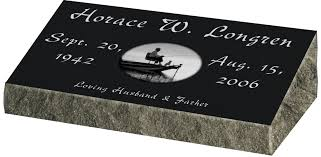 headstone markers bevel grave markers gravestones and memorials quality memorial