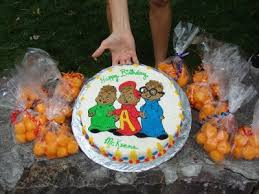 alvin and the chipmunks cake toppers alvin and the chipmunks cake walah walah