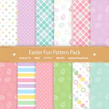 Scrapbook Paper Packs Easter Digital Paper Pack Easter Paper Easter Scrapbook Digital
