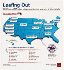 nissan canada human resources the green market oracle infographic nissan leaf us sales by state