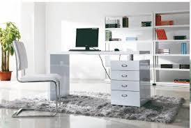 White High Gloss Computer Desk High Gloss Computer Desk 1021 China Mainland Furniture White High