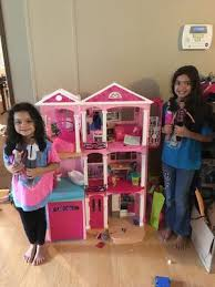 Big Barbie Dollhouse Tour Youtube by Barbie Dreamhouse Walmart Com