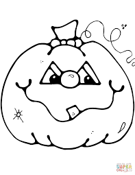 Coloring Pages Of Pumpkin For Halloween by Halloween Jack O Lantern Coloring Page Dresslikeaboss Co