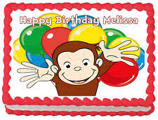 curious george cake topper curious george cake toppers ebay