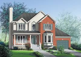 elegant 2 story home plan 80419pm architectural designs