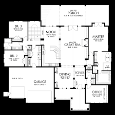 home design floor plans mascord house plan 1416 the st louis