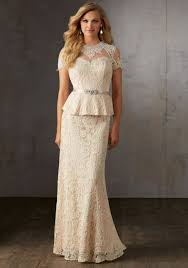 two piece lace mother of the bride gown style 71507 morilee