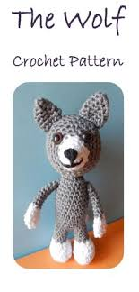 amigurumi pattern pdf free baby wolf amigurumi pdf crochet pattern by adorably kawaii at