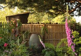 drystonegarden bamboo fence