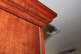 Attaching Crown Moulding Kitchen Cabinets Amateur Cabinet Maker U0026 Crown Molding Installer Cutandcrown