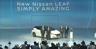 livestream of 2018 nissan leaf unveiling on september 5th 5 30pm
