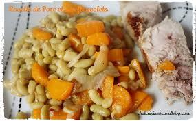cuisiner des flageolets recette land recette de rouelle de porc et ses flageolets au