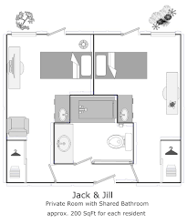 Jack And Jill Bathroom House Plans Virtual Tours
