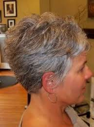 the 25 best short gray hair ideas on pinterest short hairstyles