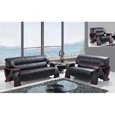 global furniture bonded leather sofa global furniture usa 2033 3 piece bonded leather living room set in