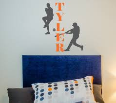 batter up personalized wall decal vinyl wall decals