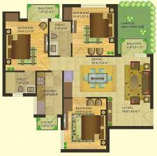green floor plans sare crescent parc royal greens 2 3 and 4 bhk apartments in gurgaon