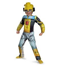 bumblebee rescue bot muscle kids movie halloween costume boys