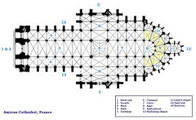 file amiens cathedral floorplan jpg wikimedia commons