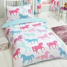 Kids Single Duvet Cover Sets Girls Pink Fairy Castle Fairy Tale Princess Single Duvet Cover