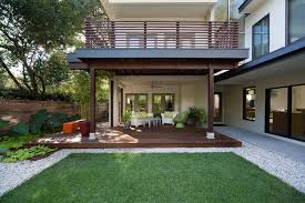 Deck And Patio Ideas Designs Example Of Horizontal Railings And Interesting Use Of Materials