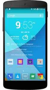 zalo apk clock widget 1 1 8 apk for android aptoide