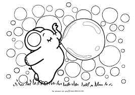 ideas collection printable bubble coloring pages cover