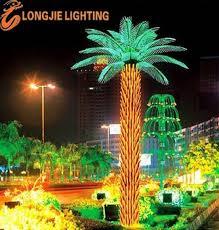 led light outdoor decorative palm tree buy led